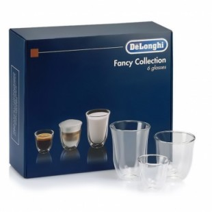 Набір чашок DeLonghi Mix Glasses Set, 6 шт.