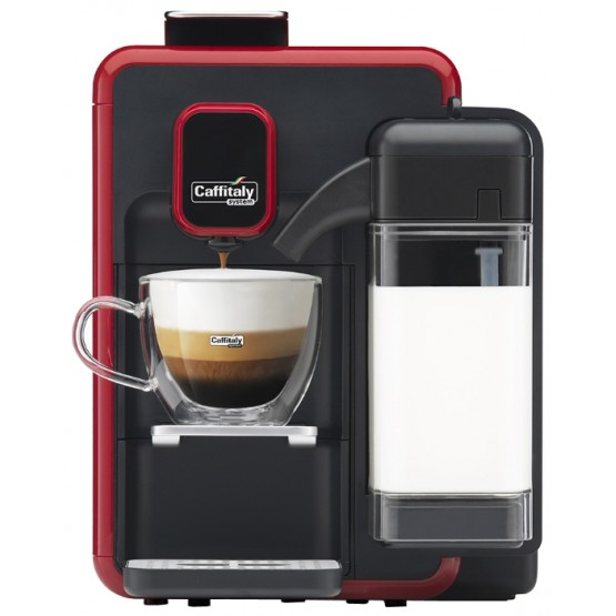 Caffitaly Bianca Black-red S22